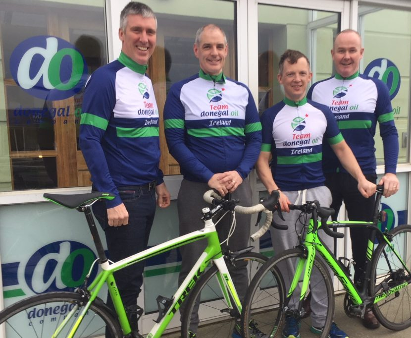 4 Donegal Endurance Athletes plan to take on the the world's toughest bike race!